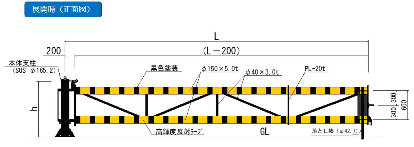 DG-1型 正面図
